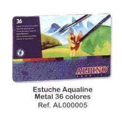 LAPIZ ALPINO ACUARELABLE METAL 36C REF 5