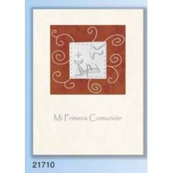 LIBRO COMUNION EDICROMO LUXURY ALUMINIO 21710