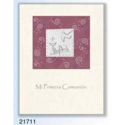 LIBRO COMUNION EDICROMO LUXURY ALUMINIO 21711