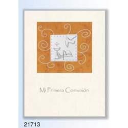 LIBRO COMUNION EDICROMO LUXURY ALUMINIO 21713