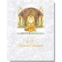 LIBRO COMUNION EDICROMO MUSICAL IMITACION 21363