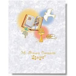 LIBRO COMUNION EDICROMO MUSICAL IMITACION 21370