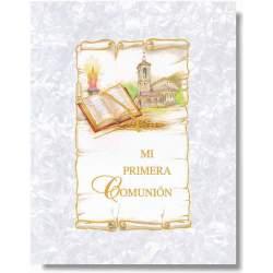 LIBRO COMUNION EDICROMO MUSICAL IMITACION 21372