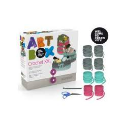 JUEGO ALPINO ART BOX CROCHET BOLSO AB000009