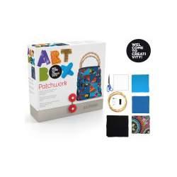 JUEGO ALPINO ART BOX PATCHWORK BOLSO AB000006