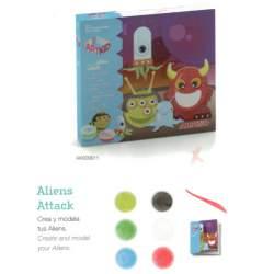 JUEGO ALPINO ART KID ALIENS ATTACK AK000011