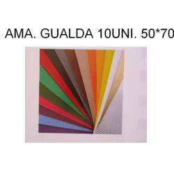 CARTON ONDULADO AMARILLO GUALDA 50*70 PTE/10U