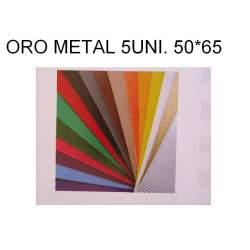 CARTON ONDULADO METAL ORO 50*65 PTE 5H