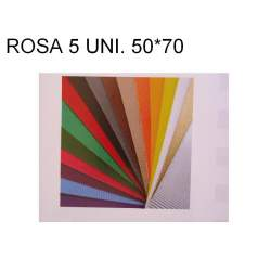 CARTON ONDULADO ROSA 50*70 PTE/5U