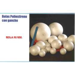 BOLA POLIESPAN 90MM B/8U I-MONDI