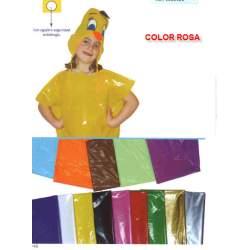 BOLSA PLASTICO DISFRAZ 65*90 COLOR ROSA PTE 25U