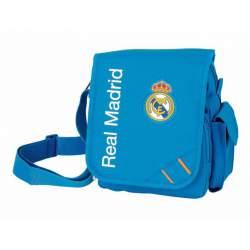 BOLSO SAFTA14 REAL MADRID AZUL REPORTERO 22CM 6114563672