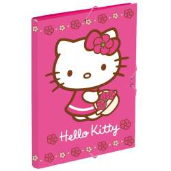 CARPETA DEC FL GOMAS PERONA 13 HELLO KITTY 20255