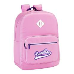 MOCHILA SAFTA15 BENETTON ROSA ADAPTABLE 43CM 611551754