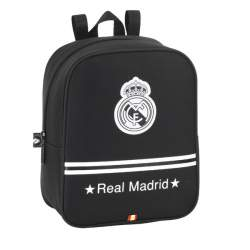 MOCHILA SAFTA15 REAL MADRID BLACK GUARDERIA 22CM 611524232