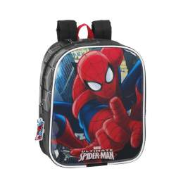MOCHILA SAFTA15 SPIDERMAN GUARDERIA 22CM 611512232