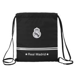 BOLSA ZAPATOS SAFTA15 REAL MADRID BLACK 35CM 611524196