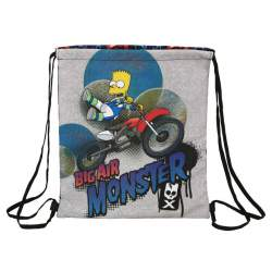 BOLSA ZAPATOS SAFTA15 SIMPSONS MOTOCROSS 35CM 611505196