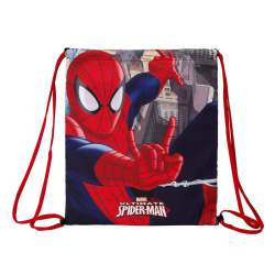 BOLSA ZAPATOS SAFTA15 SPIDERMAN 35CM 611512196