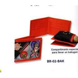 BILLETERO CYP BAKUGAN COMPARTIMENTO BR-02-BAK