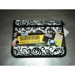 FUNDA TABLET 7 SURVIVOR CACHEMIR C/CREMALLERA""