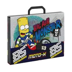 MALETIN SAFTA15 SIMPSONS MOTOCROSS CARTON 35CM LOMO 5CM 511505694