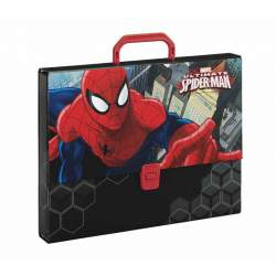 MALETIN SAFTA15 SPIDERMAN CARTON 35CM LOMO 5CM 511512694