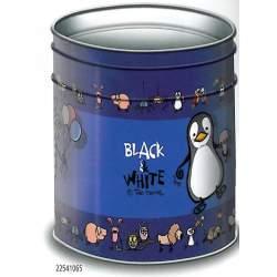 PAPELERA METAL ENRI 09 BLACK & WHITE ANIMAL MIX 22541065