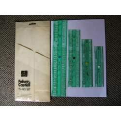 PLANTILLA ROTULAR FABER-CASTELL DIN 0,8 173180