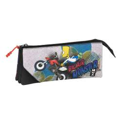 PORTATODO SAFTA15 SIMPSONS MOTOCROSS TRIPLE 22CM 811505744