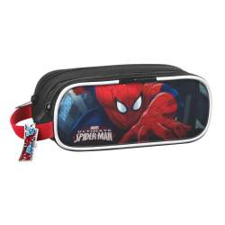 PORTATODO SAFTA15 SPIDERMAN DOBLE 21CM 811512513