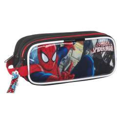 PORTATODO SAFTA15 SPIDERMAN TRIPLE 21CM 811512635