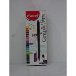 ROTULADOR MAPED GRAPH'PEPS 0,4 VIOLETA C/12U 749108