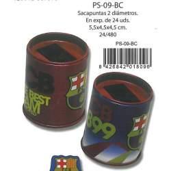 SACAPUNTAS CYP FCBARCELONA DEPOSITO DOBLE PS-09-BC