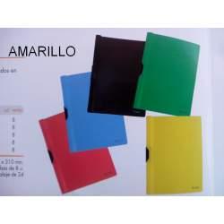 DOSSIER CLIP 30H PRYSE AMARILLO