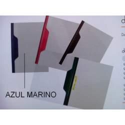DOSSIER FASTENER FL AZUL MARINO C/50U