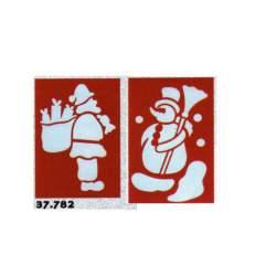 PLANTILLA NIEVE PARA CRISTALES 37782