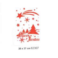PLANTILLA NIEVE PARA CRISTALES 62307