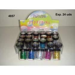 PURPURINA WG HOLOGRAFICA SURTIDA C/24U 48570
