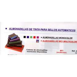 ALMOHADILLA TAMPON PRINTY TRODAT 4910 NEGRO