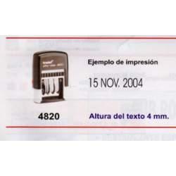 FECHADOR PRINTY 4820 P2 4MM TRODAT