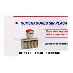 NUMERADOR 5 MM 4 BANDAS REF 1554