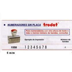 NUMERADOR 5 MM 8 BANDAS REF 1558