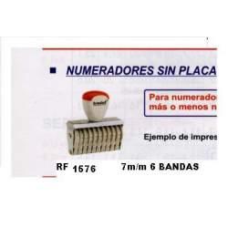 NUMERADOR 7 MM 6 BANDAS REF 1576