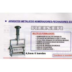 NUMERADOR REINER 4.5 MM 6 B. B6
