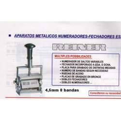 NUMERADOR REINER 4.5 MM 8 BANDAS B6