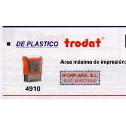 SELLO PRINTY 4910 P2 TRODAT NEGRO/NEGRO