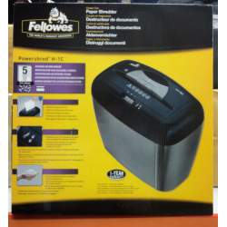 DESTRUCTORA FELLOWES H-1C PARTICULAS 3,9*40MM 5 HOJAS