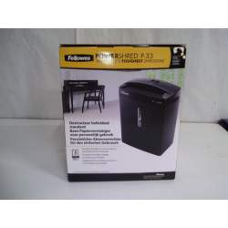 DESTRUCTORA FELLOWES P-33 TIRAS 6MM 8 HOJAS