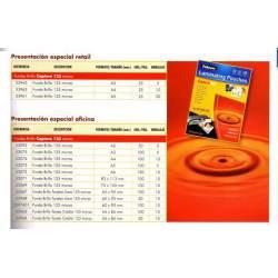 FUNDA PLASTIFICAR 210*297 A-4 125M C/100U FELLOWES/APEX